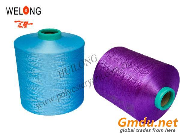 600d dope dyed polyester yarn of dty