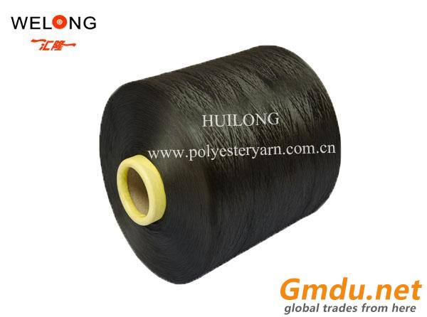 150d/48f yarn of colored dty polyester
