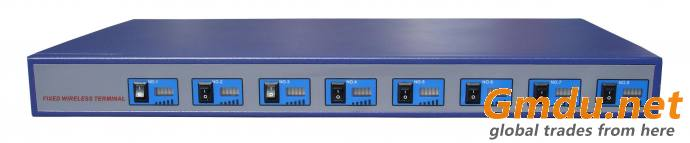 8 Channel GSM Fixed Wireless Terminal