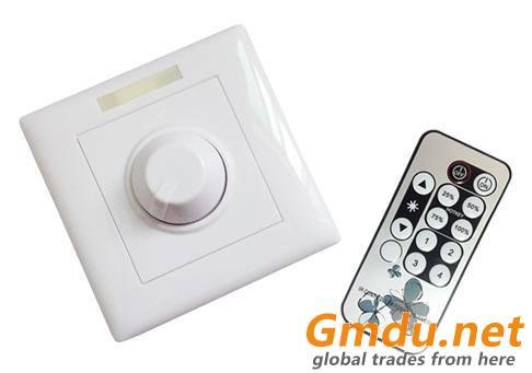 High Voltage LED Dimmer With Remote Control (90V-240V)