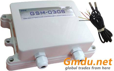 GSM Temperature Remote Control And Monitoring System