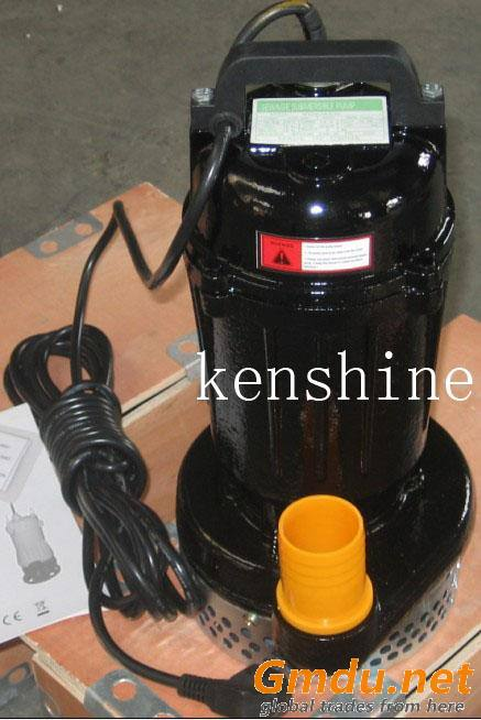 WQP Series stainless steel submersible sewage pump