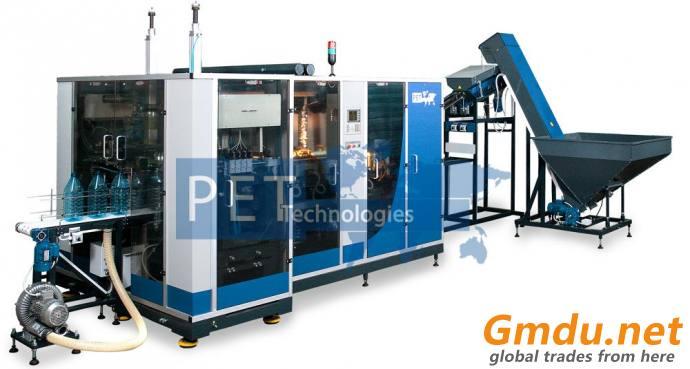 PET blow molding machine