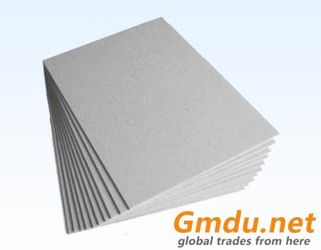 Laminated grey paperboard