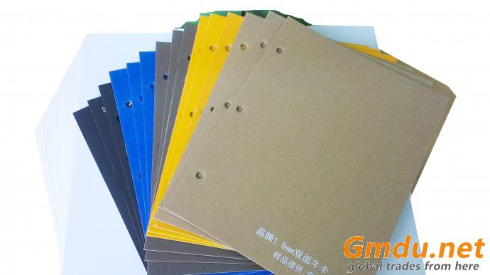 Colorful surface lined grey board