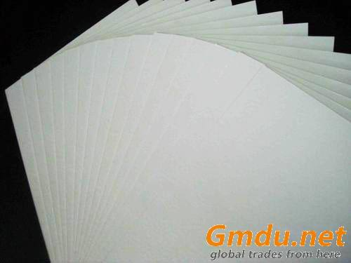 Glossy surface Grey paperboard