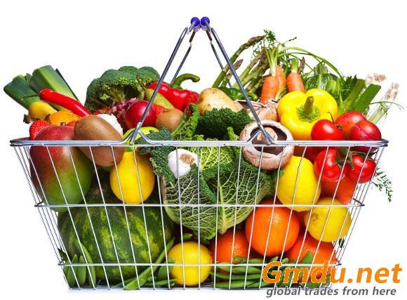 Fresh Fruits & Vegetables, Canned Food
