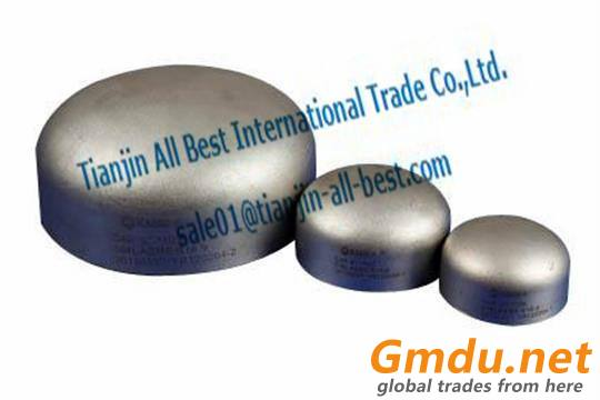 Stainless Steel Pipe caps iron pipe fittings