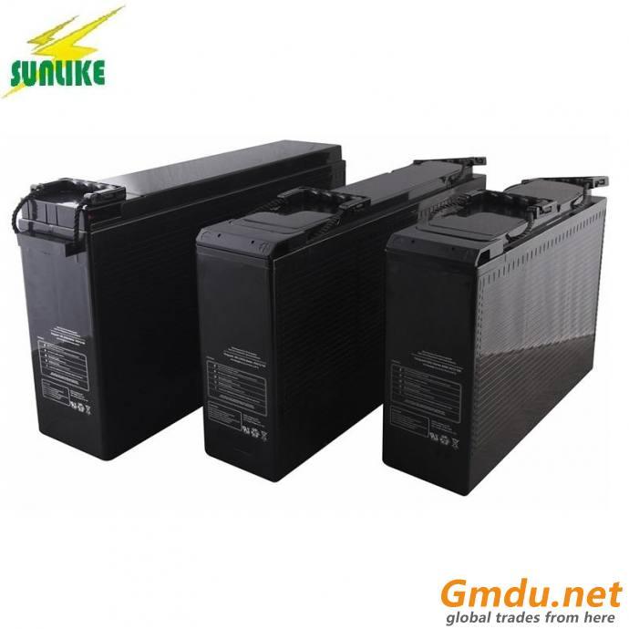 12V50ah/12V55ah/12V70ah/12V75ah/12V80ah Front Terminal UPS Telecom Battery