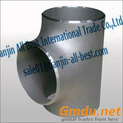 Stainless steel straight Tee iron pipe fittings
