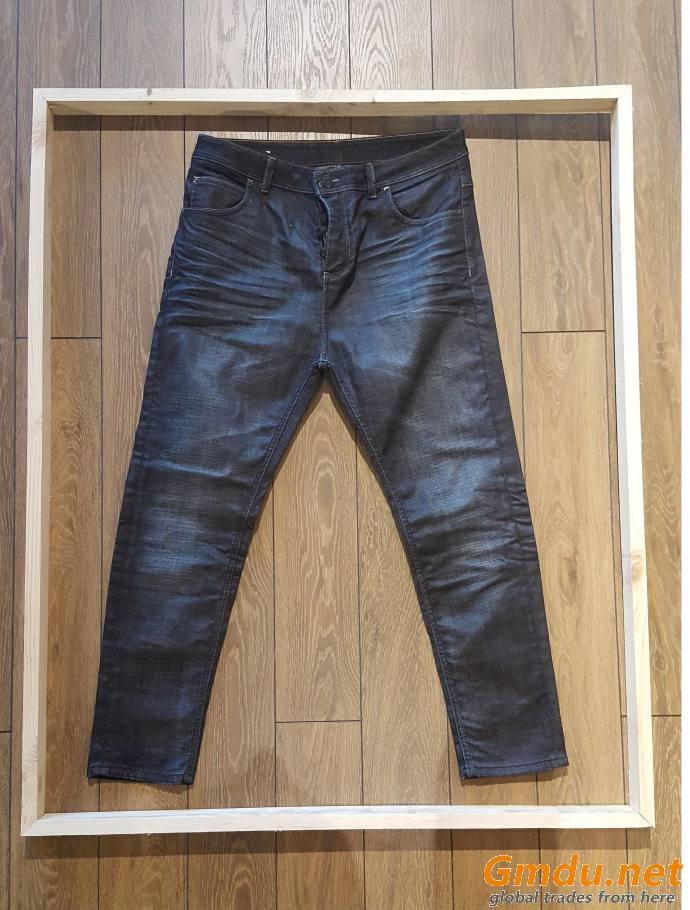 denim and non-denim garments
