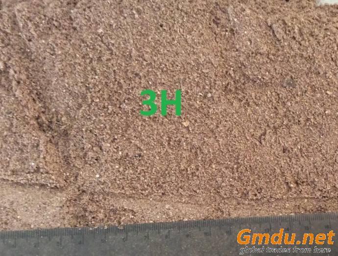 Cashew husk powder for animal feed