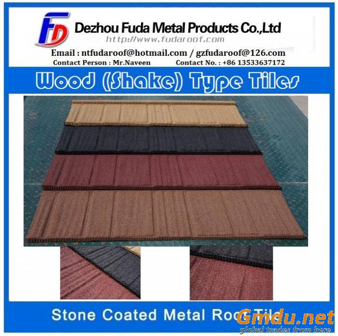 STONE COATED ROOF TILES- 50 YEAR LIFETIME