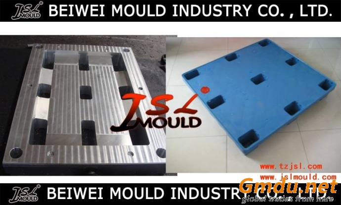 Industrial plastic pallet injection mold