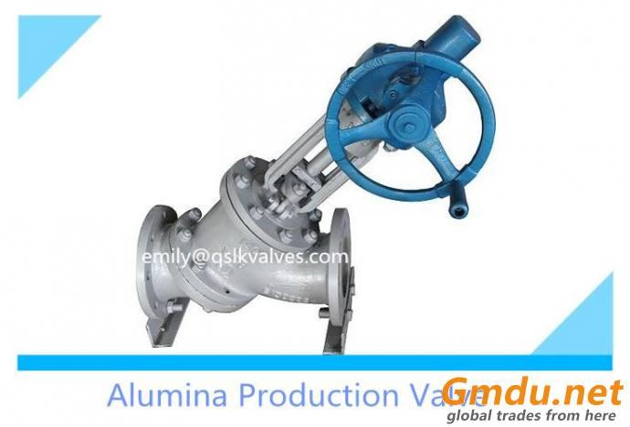 Y-type slurry valve