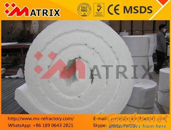 1260C blanket heat resistant ceramic fiber insulation