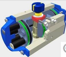 4th GENERATION and POWER TECHNOLOGY PT pneumatic rack andpinion