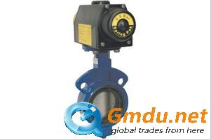 Keystone Air Actuated Butterfly Valve DUA906-60KSR
