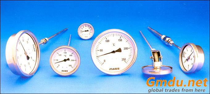 Bi-Metal Temperature Guages