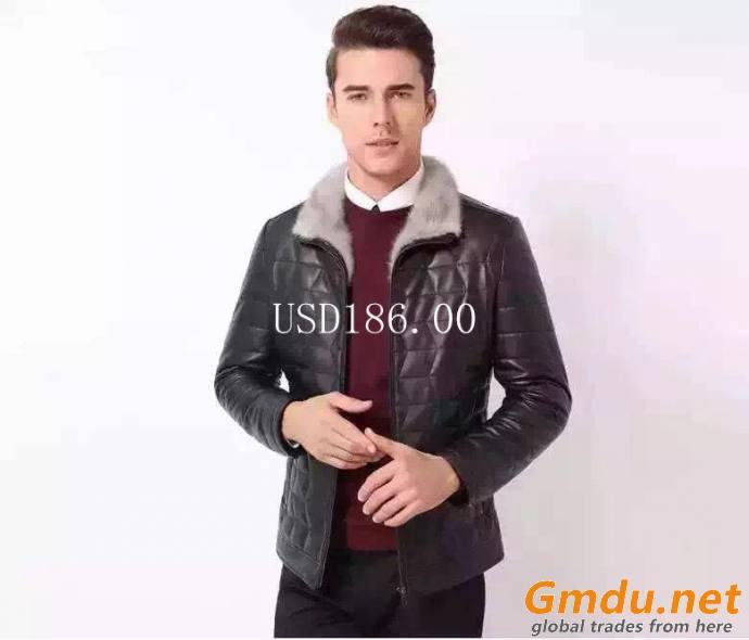 sheep leather jacket