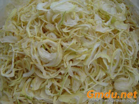 Dehydrated White onion Kibbled