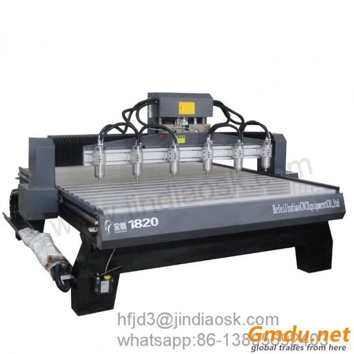 Multi spindles Wood Engraving Machine