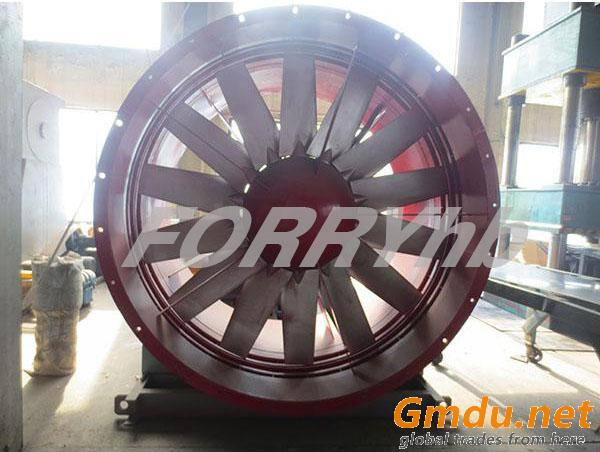 DTF series Tunnel Ventilation Fan axial fan with cast aluminium impeller