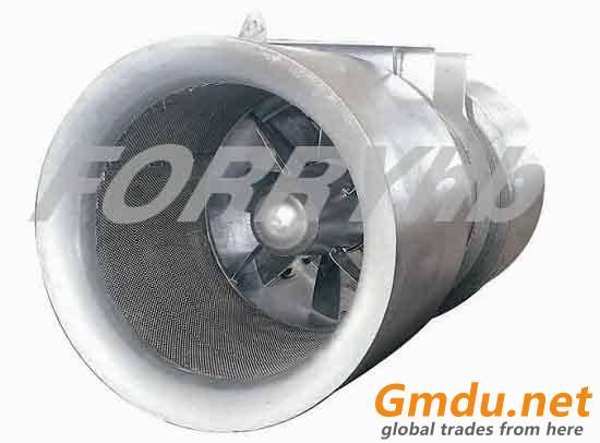 SDS series Tunnel Ventilation Jat Fan axial fan with cast aluminium impeller