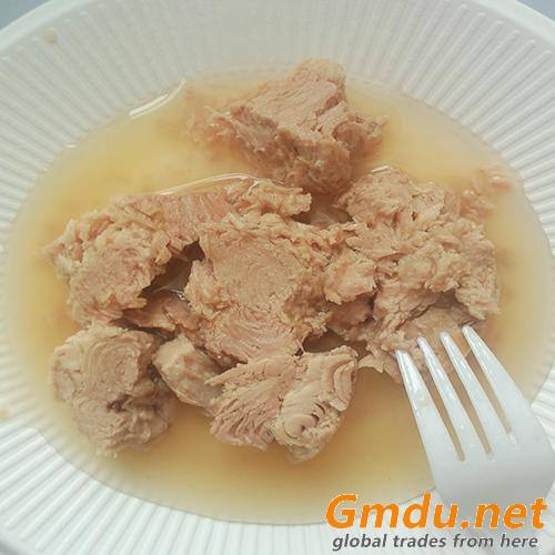 Canned light meat tuna in water