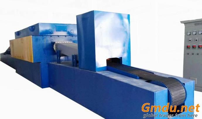 mesh belt conveyor stainless steel electric heat treatment brazing furnace