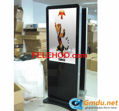 55 Inch HD Floor Standing Wifi Digital Signage Totem
