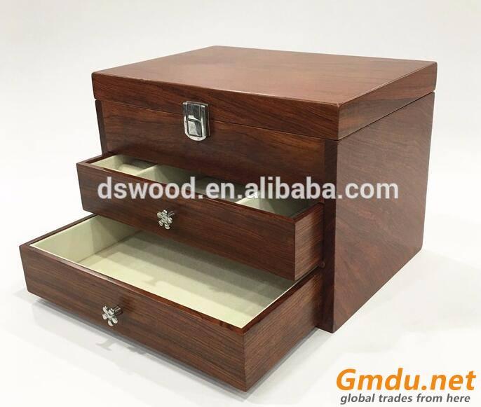 Watch Box Organizer with Glass Watch Packaging Box