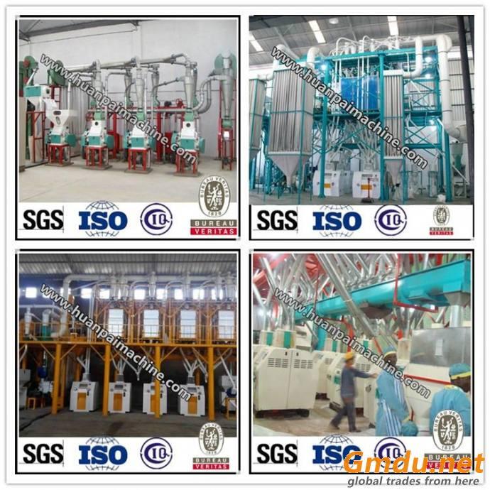 10-500t/24hrs wheat flour making machine