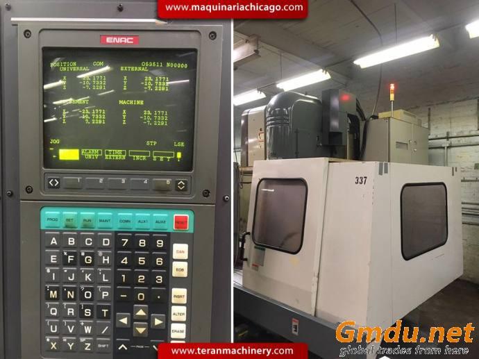 "25-1/2"" x 79"" ENSHU Vertical Machine Center"