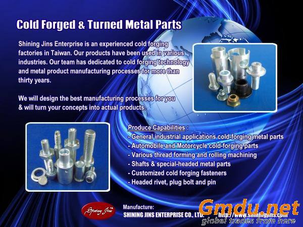 Non Standard Steel Machine Parts made in Taiwan