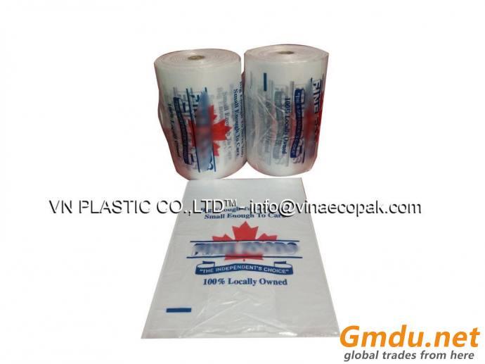 Plastic bag with logo AVN130305