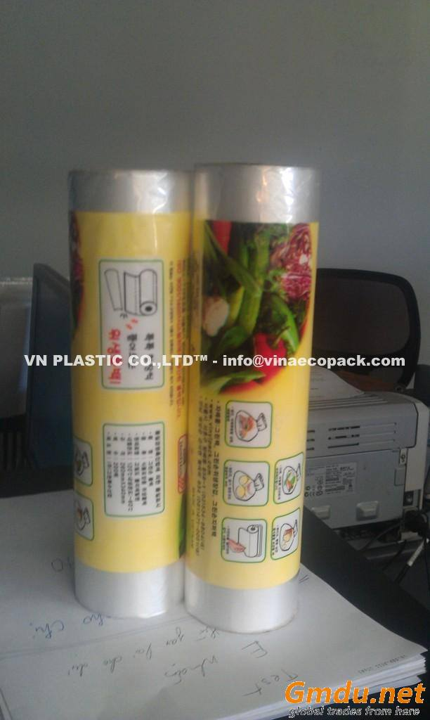 HDPE bags on roll for food AVN15031702