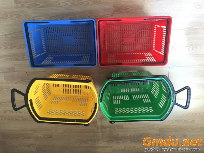 Plastic Store Baskets with handle