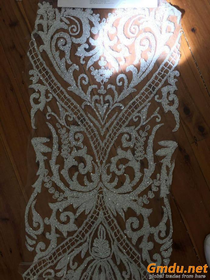 bridal couture fabric