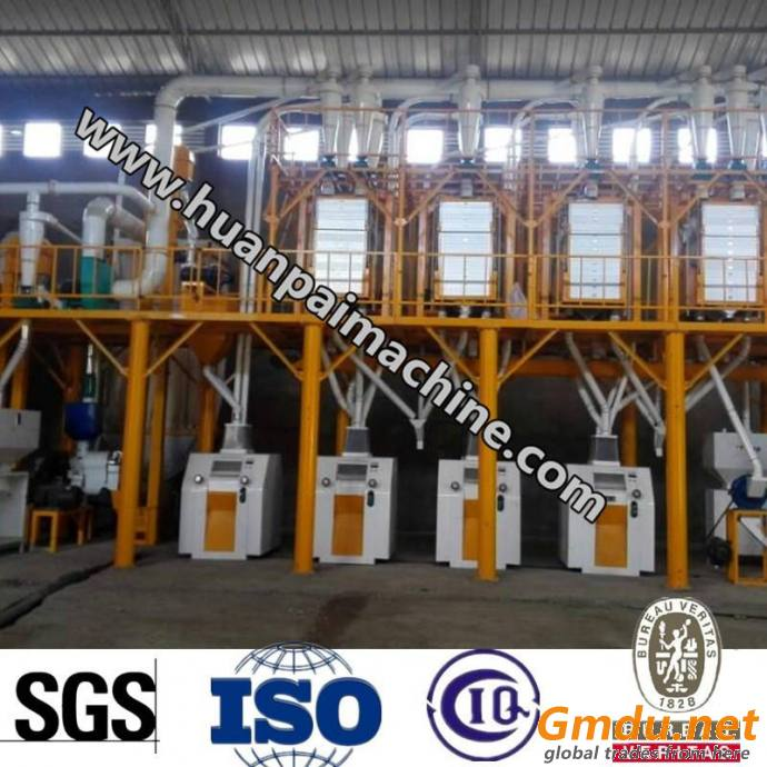 6FTP-50T complete set of wheat milling machine