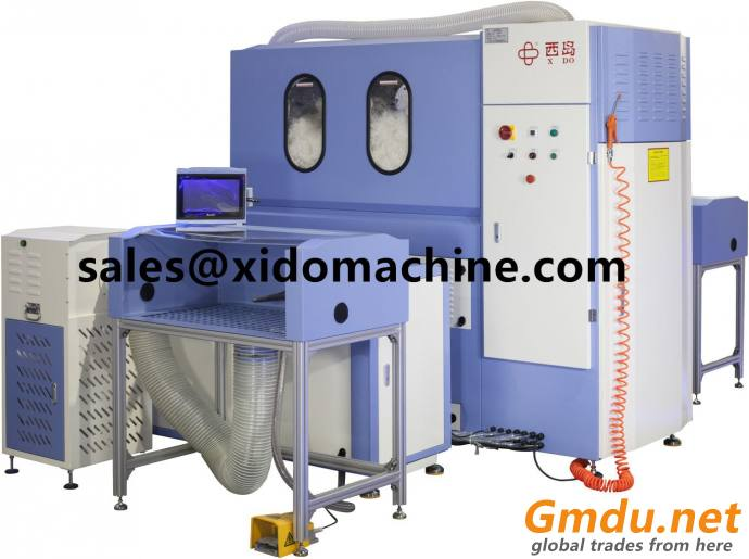 Duck Goose Down Feather Jacket Filling Machine