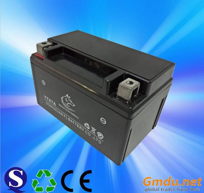 YTX7A Electric Motorcycle Battery 12v7ah Gel Lead Acid Battery For Motorcycle