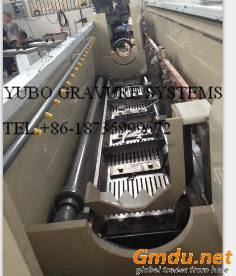 New design copper plating tank for rotogravure cylinder making