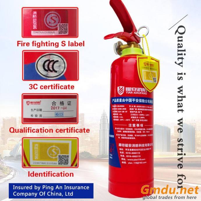 MINI Portable Water Foam Extinguisher (950ML)