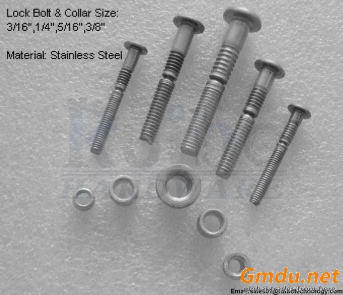 Stainless steel lock bolt