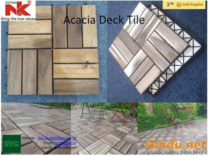 Vietnam Wood Flooring Deck Tile