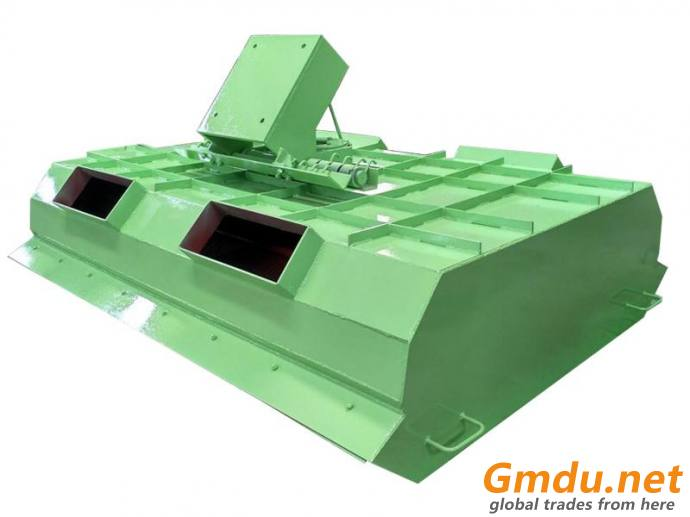 WFHS reversible arc screen for mining ore