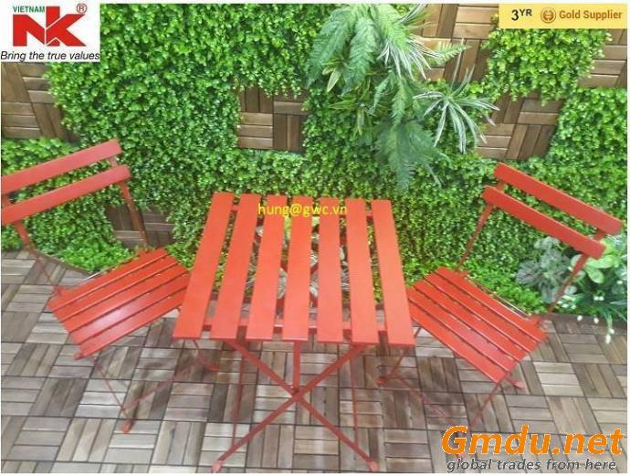 Garden Furniture Bistro Table and Chairs Set