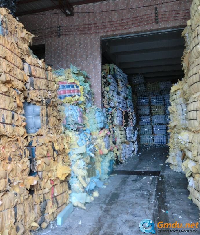PU foam scrap dry and clean with low cost