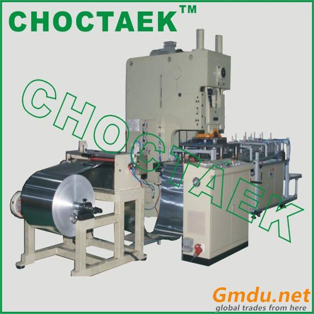 take away food aluminium foil tray making machine 60T